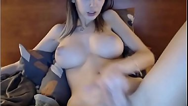 Creamy CUM to many squirts beautiful TEEN