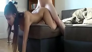 Busty Teen Gets Solo Masturbation