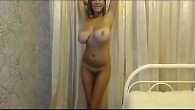 I met my horny mom with big tits online