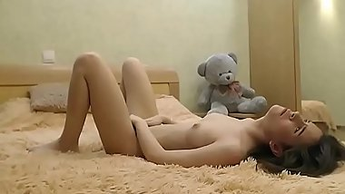 young and inexperienced girl practicing sex with a guy in video chat - webgirls69.ru
