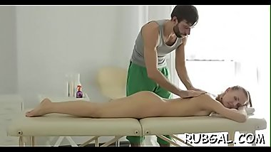 Sex toy delivers an unearthy pleasure to a shaved fur pie