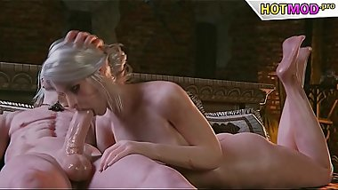 Witcher Porn Ciri Blowjob DeepThroat  ►► FULL GAME ON HOTMOD.PRO