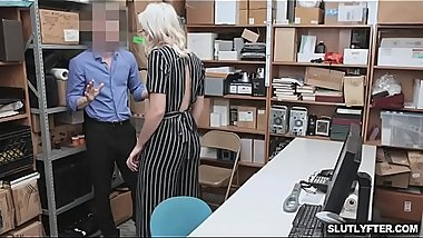 Chanel submit herself to officer Ryan