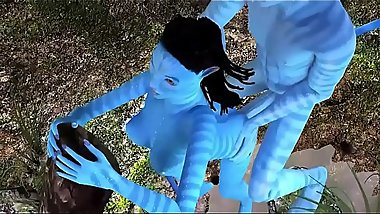 3D Cartoon sex  - Blue avatars big cock fuck and cumshot - http://toonypip.vip - 3D Cartoon sex