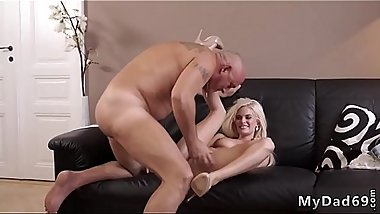 Old man young anal and web cam Horny light-haired wants to attempt