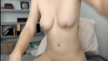 Cute amateur blonde masturbating - 247camgirl.com for more of her