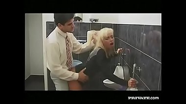 Gabriella Bond Anal Sex in the Bathroom