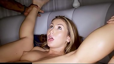 TEEN GETS PICKED UP AND FUCKED HARD BY BBC AFTER BREAKING UP WITH BF