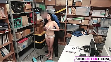 Cops Hands All Over Nubile Cutie Monica Sage