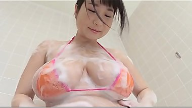 Adorable and playful angel Rui Kiriyama gets naked and shows her mind-blowing sex appeal