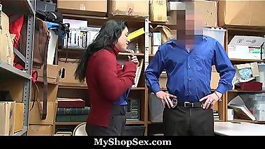 Thick Big Ass And Big Natural Tits Teen Shoplifter Step Daughter