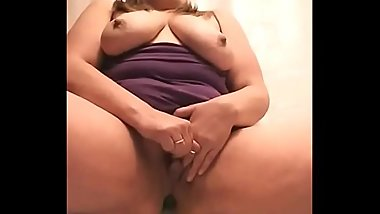 Busty bbw masturbates and cums on cam - more at AngelzLive.com