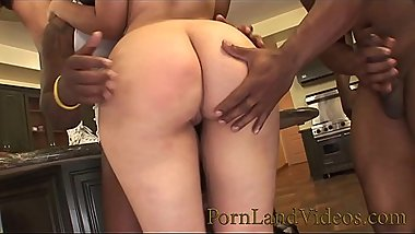 Young TEEN MOUTH FULL of BBC and CUMSHOT